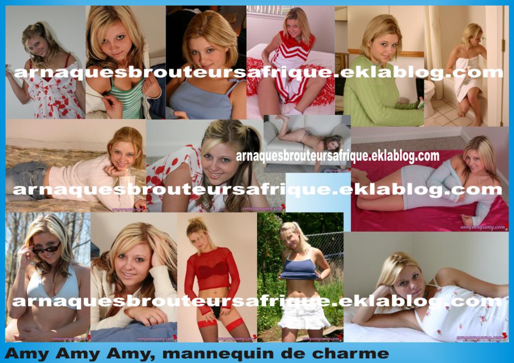 Amy Amy Amy - photos volées par des brouteurs ivoiriens pour arnaquer
