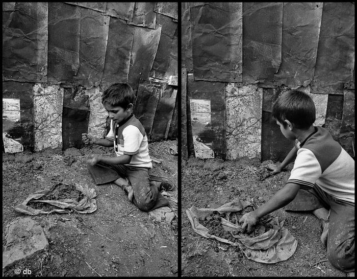 L'enfant des bidonvilles