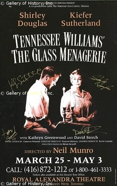 1997 -The Glass Menagerie (La Ménagerie de Verre)