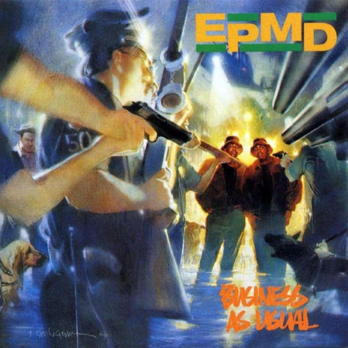 EPMD, Business As Usual cover