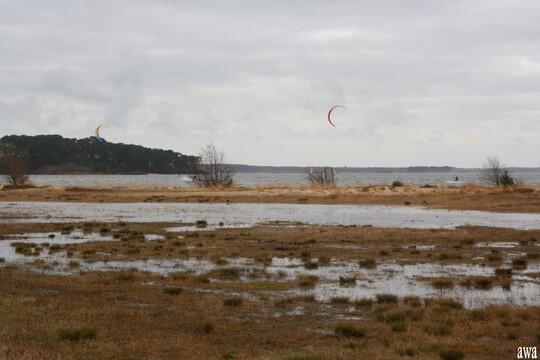 Après Lacanau océan, le lac, le 8 mars