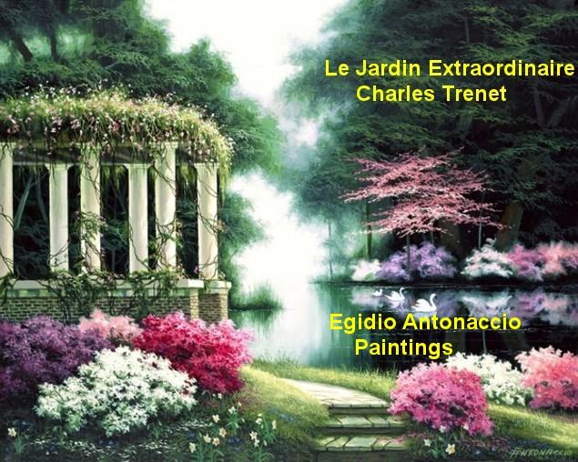 Le Jardin Extraordinaire    Charles Trenet