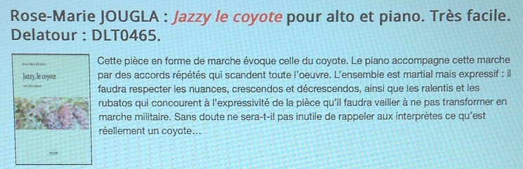 """6.""""Jazzy, le coyote"""""""