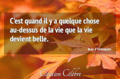 Citations de Jean d'Ormesson