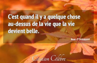 Citations de Jean d'Ormesson