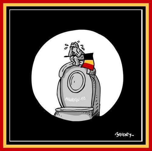 Une pensée pour la Belgique...........