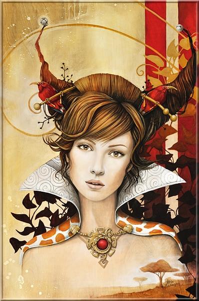 Belles peintures de Sophie Wilkins