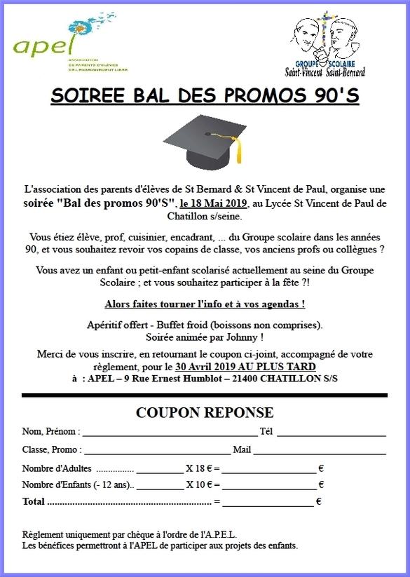 L'APEL du  groupe scolaire Saint Vincent-Saint Bernard