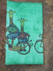cahier girafes dos