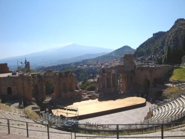 Taormina, le théâtre grec