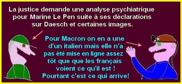 Incroyable mais vrai ? Marine Le Pen chez le PSY?