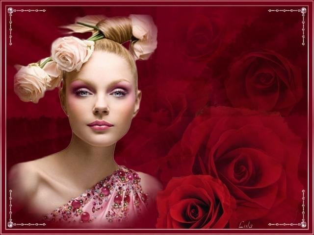 Défi n° 4  : La Femme Fleur