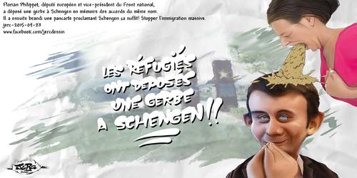 jerc-2015-09-23 Profitons que Florian Philippot est au Luxembourg pour fermer les frontières. Cliquer sur la photo pour voir en plus grand