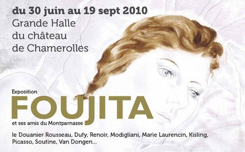 Expo Foujita au musée Maillol