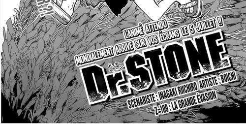 Dr. Stone Scan chapitre 109 en VF Version Française