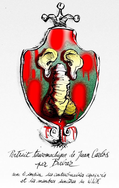 Le roi Juan Carlos,  WWF chasse l'éléphant