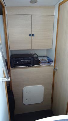 04 - Cabine avant - couloir - bâbord
