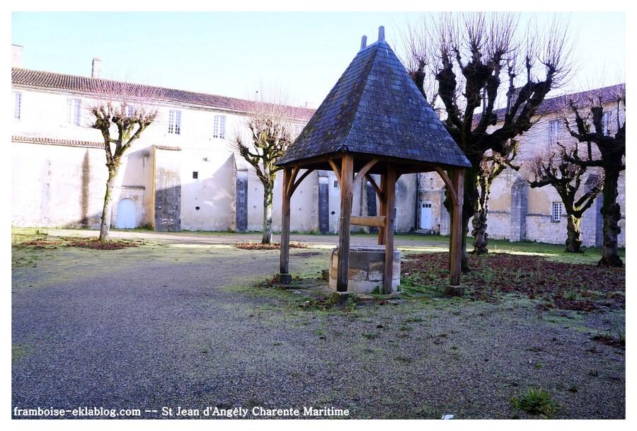 Saint Jean d'Angély en Charente Maritime