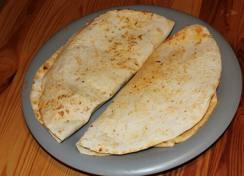 Quesadillas au poulet barbecue