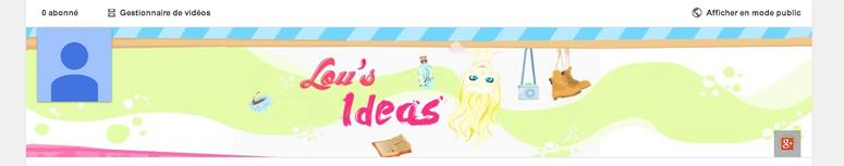 Bannière Youtube : Une commande, une !