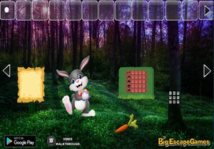 Jouer à Big Easter bunny forest escape