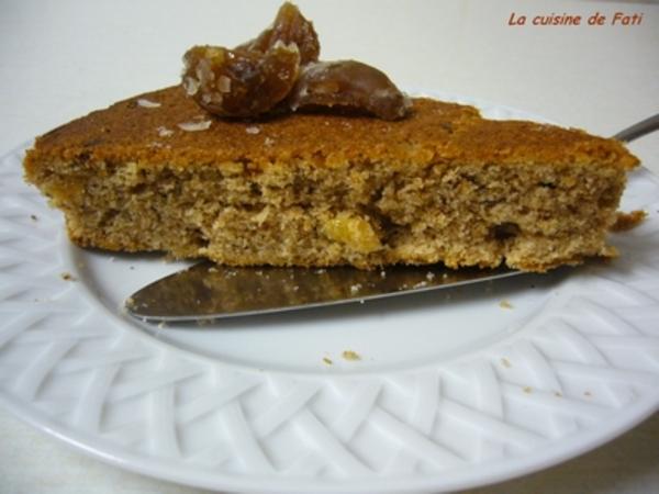 Gâteau d'automne aux épices