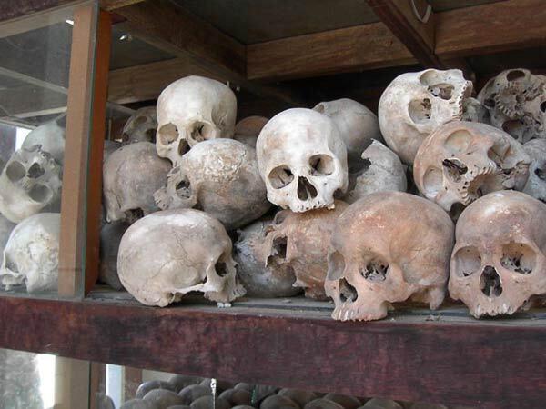 Victimes du génocide des Khmers Rouges