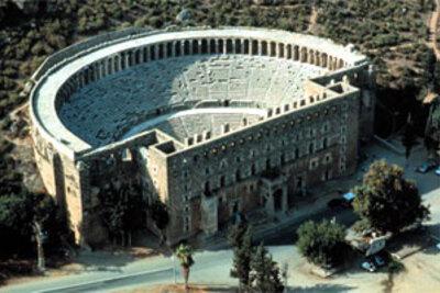 Turquie n°15 -Carnets de voyage - Pergé - Aspendos