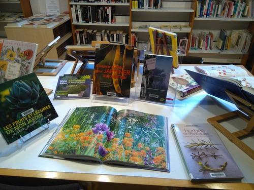 Jardins et Voyages des beaux livres à la bib