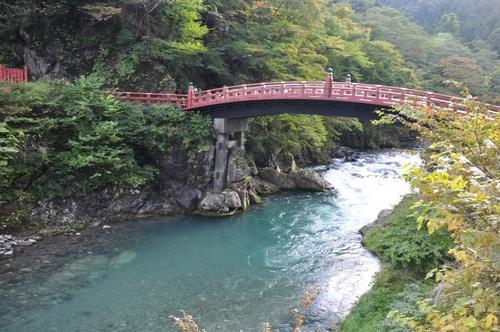 Nikko au Japon au mois d'Octobre dernier.
