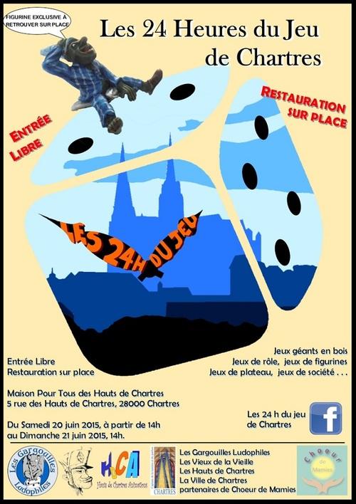 Les 24h de Jeux de Chartres !