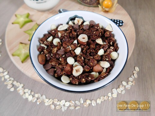 Granola au chocolat & aux pépites