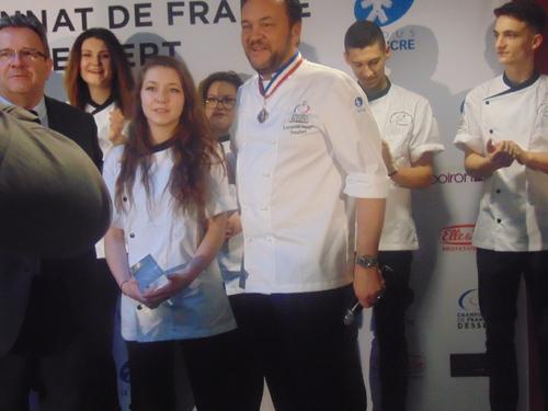 Résultats du championnat de France du dessert