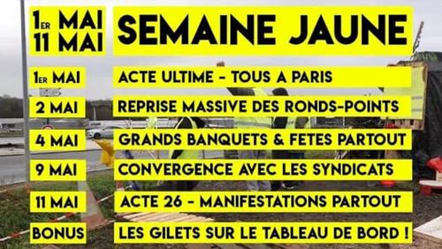 Acte XXIV, après la conférence de presse de Macron