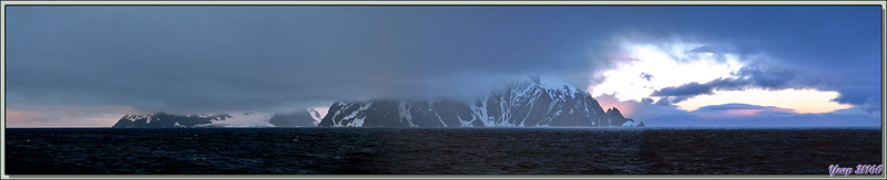Panorama sur Elephant Island