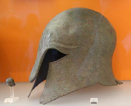 Le musée des fouilles à Delphes