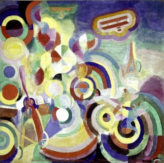 Robert Delaunay, Hommage à Blériot