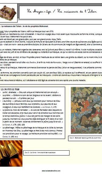 Le Moyen-âge : la naissance de l'Islam