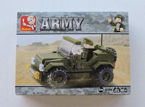 SLUBAN - Jeep de patrouille