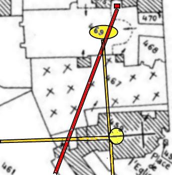 Rapport août 2013 sur les vestiges se trouvant sous l'église Saint-André et la Cathédrale d'Alet-les-Bains,courrier envoyé à la mairie d'Alet.(12 août 2013)