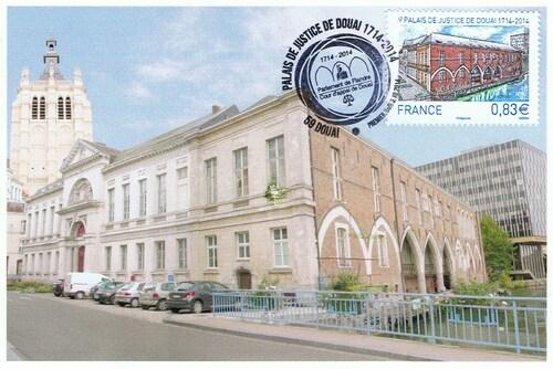 Palais de Justice de Douai 1714 - 2014
