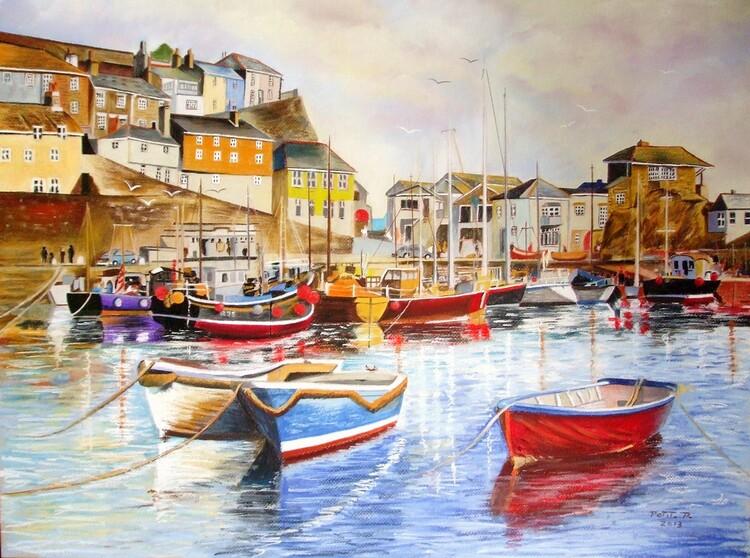 Mevagissey  (port de pêche en Cornouailles anglaise)