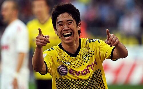 Shinji Kagawa, premier japonais à gagner la 1er League anglaise