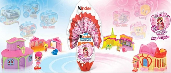 kinder poppixie paques 2012