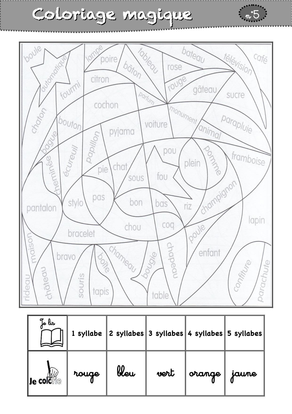 Coloriage Classe Cp.Coloriages Magiques Cp La Classe De Luccia