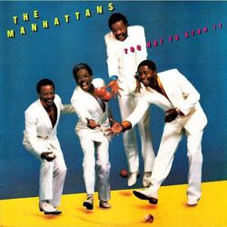 The Manhattans - Too Hot To Stop It - Complete LP