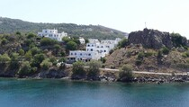 Notre hôtel au port de Skala