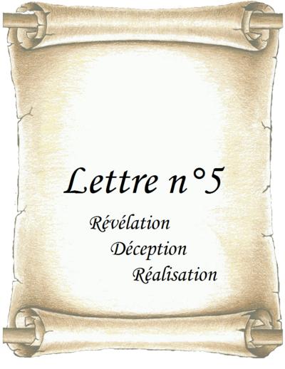 Lettre n°5