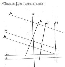 Géométrie : rappel de vocabulaire