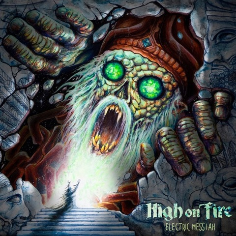 HIGH ON FIRE - Un premier extrait de l'album Electric Messiah dévoilé